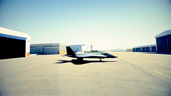 İşte ilk yerli TF-X muharip uçağı