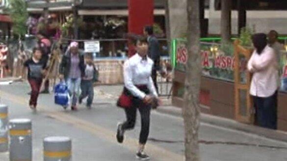 Kızılay'da bomba ihbarı alarmı