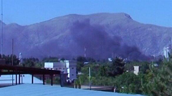 Afganistan'daki patlamadan ilk görüntüler