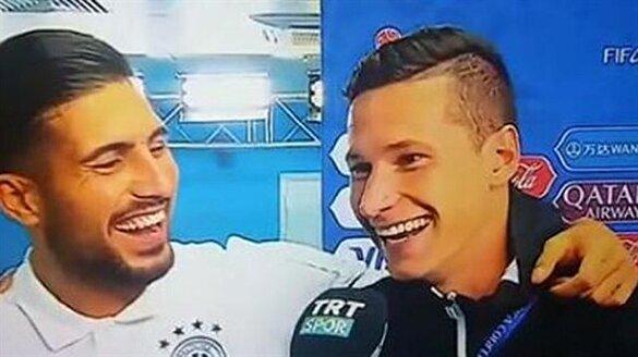 Draxler maç sonrası Türkçe konuştu