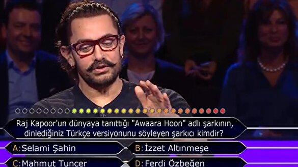 Aamir Khan, İzzet Altınmeşe'yi bildi
