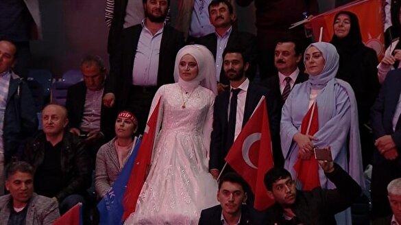 AK Parti İstanbul İl Kongresi'nde dikkat çeken detay