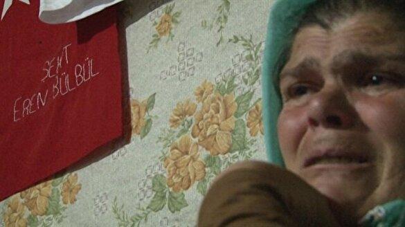 Şehit Eren Bülbül'ün annesinden yürek yakan açıklamalar