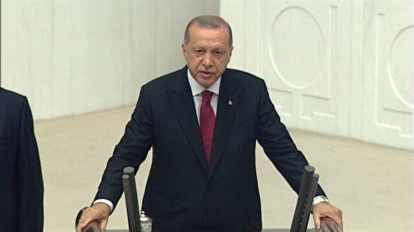 Türkiye'nin ilk Başkan'ı böyle yemin etti!