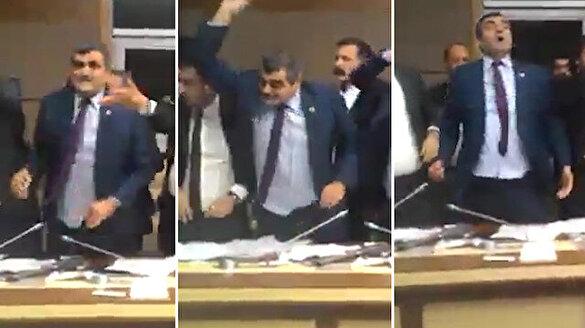 CHP'li Ali Şeker'den Sağlık Komisyonu'nda ilginç hareketler