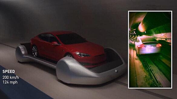 Musk'un çığır açması beklenen projesi yeraltı tüneli açıldı