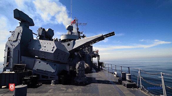 Aselsan'ın 'Korkut' Sistemi gemileri füzelere karşı koruyor