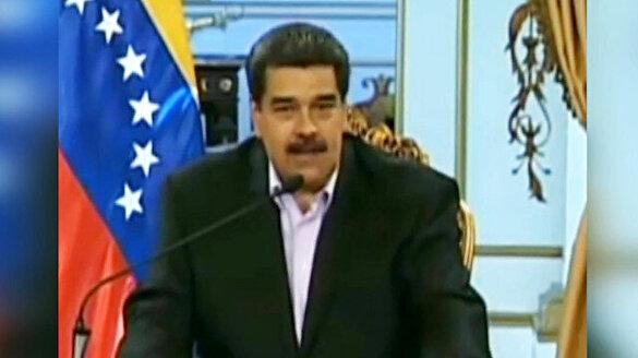 Maduro'dan Trump'a: Venezuela'dan ellerini çek!