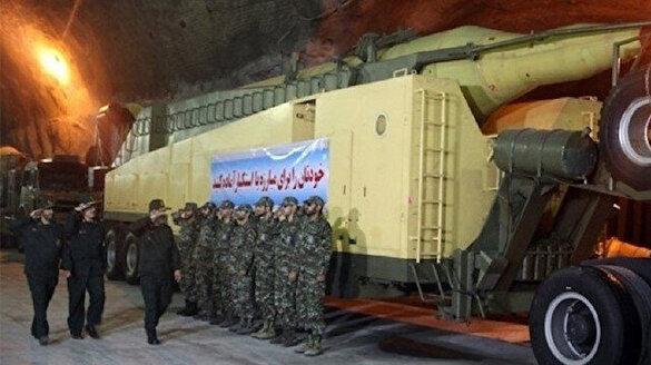 İran'ın yeraltı füze tesisi ilk kez görüntülendi
