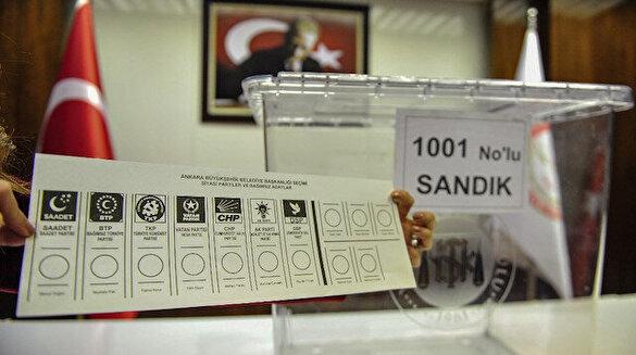 Yerel seçimde kullanılacak oy pusulası belli oldu