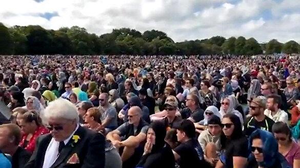 Yeni Zelandalılar Cuma Namazı'nda buluştu