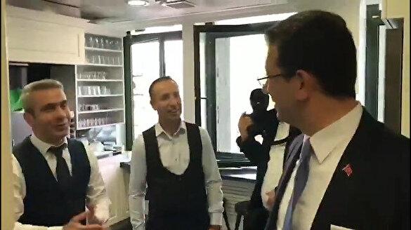 Ekrem İmamoğlu'ndan çok başarılı 'antrikot' tiyatrosu