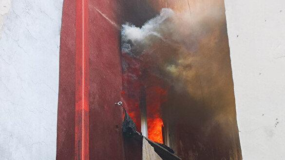İstanbul Ataşehir'de yangın