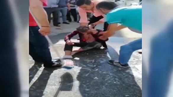 Bursa'da damada işkence gibi şaka