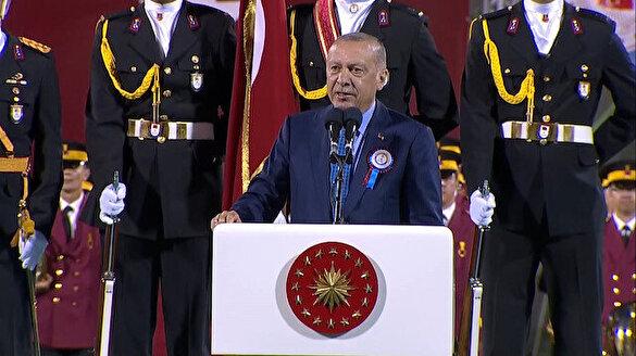Cumhurbaşkanı Erdoğan: Doğu Akdeniz'de Türkiye'nin olmadığını söyleyen zavallılar var