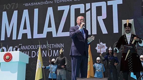 Cumhurbaşkanı Erdoğan: Çok yakında kara birliklerimiz de bölgeye girecek