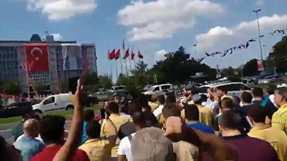 İşten çıkarılan İBB çalışanları eylem yaptı