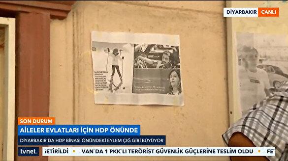 Çocuğu kaçırılan aileler HDP'den bu fotoğrafla hesap soruyor