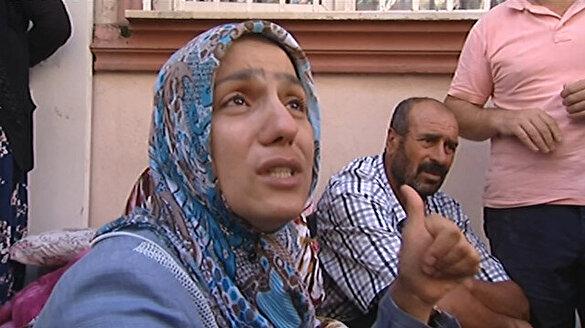 HDP'liler ile eylem yapan aileler arasında gerginlik