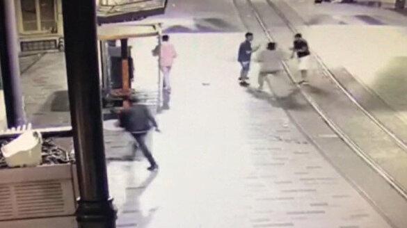 İstiklal Caddesi'ndeki cinayetin görüntüleri ortaya çıktı
