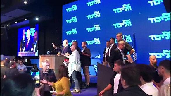 Netanyahu Gazze'den atılan füze sonrası sığınağa kaçtı