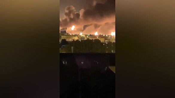Suudi Arabistan'da petrol tesisine SİHA'lı saldırı