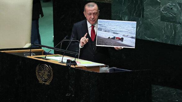 Erdoğan'dan dünyaya 'Aylan Bebek'li uyarı