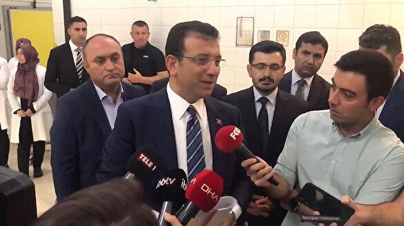 İBB Başkanı Ekrem İmamoğlu 'Valilikten deprem toplantısı için davet geldi mi' sorusuna