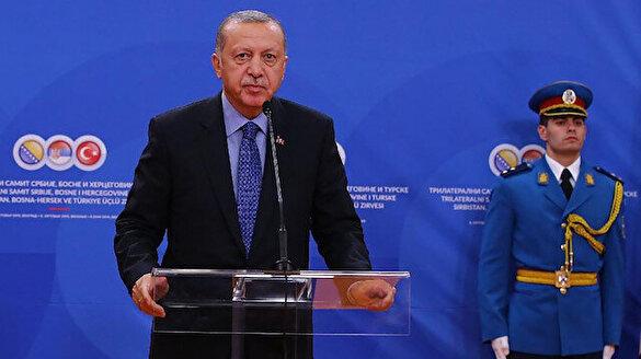 Cumhurbaşkanı Erdoğan: Türkiye'nin yegane arzusu Balkanların barışıdır, istikrarıdır