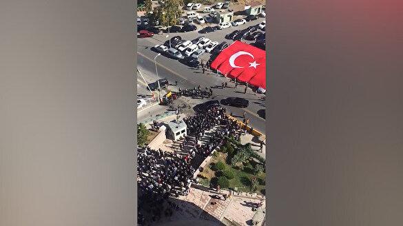 Devlet Bahçeli 22 gün sonra geldiği parti binasında böyle karşılandı