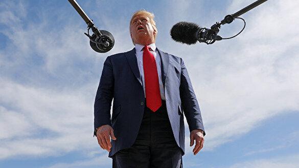Fransız gazeteciden Trump'ı mest eden soru