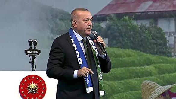 Cumhurbaşkanı Erdoğan: Tek tip paket uygulamasına geçiyoruz