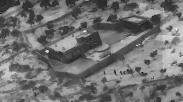 ABD DEAŞ lideri Bağdadi operasyonuna ait görüntüleri paylaştı