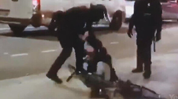Fransa'da polis şiddeti