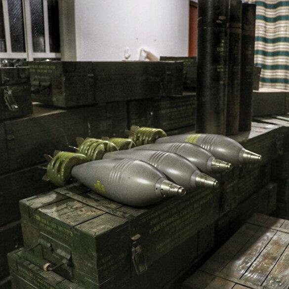 PKK'nın silah deposunda ABD havanları çıktı