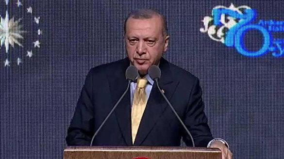 Cumhurbaşkanı Erdoğan: Artık biz kendi İHA'mızı da SİHA'mızı da Akıncıyı'da yapıyoruz