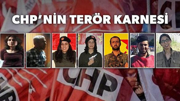 CHP'li siyasetçilerin arka çıktığı PKK'lı ve DHKP-C'li teröristler