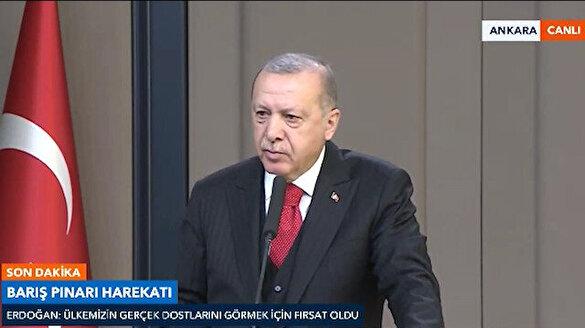 Cumhurbaşkanı Erdoğan: UEFA'nın takımlarımıza yönelik ayrılıkçı tavrını reddediyoruz