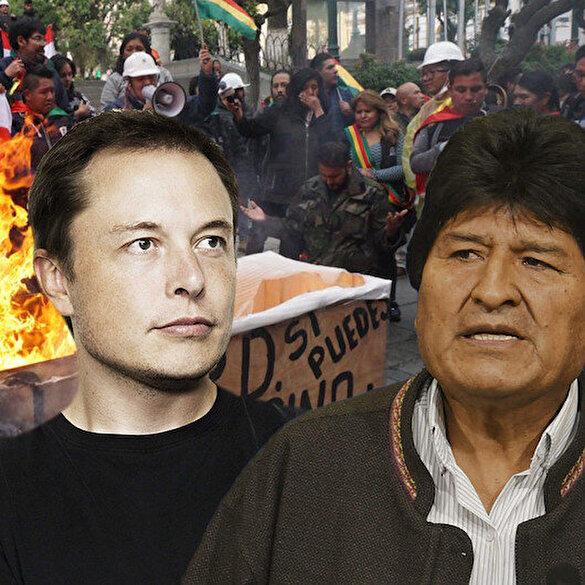 Bolivya'daki darbenin arkasında Musk mı var?