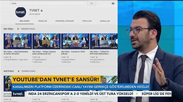 YouTube'dan TVNET'e sansür: Canlı yayını neden engellediklerini bilmiyorlar
