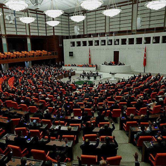 Libya tezkeresi Meclis'te 325 oyla kabul edildi