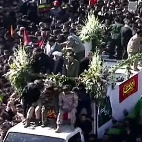 Kasım Süleymani'nin cenazesinde izdiham: 35 ölü 48 yaralı
