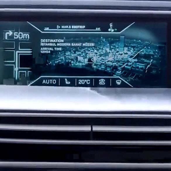 Yeri otomobille ilgili yeni video