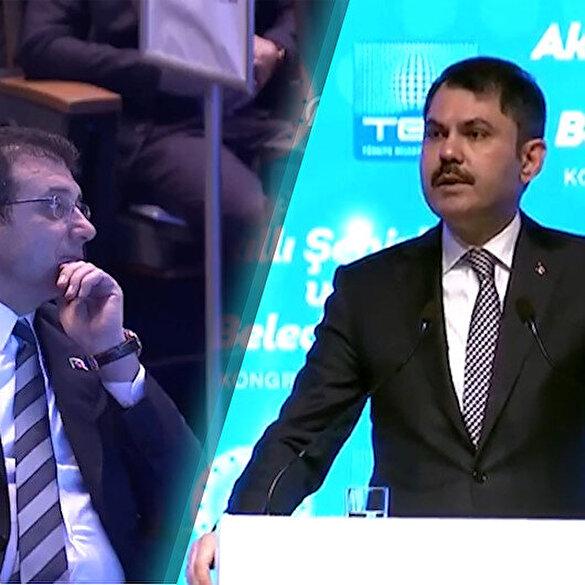 İmamoğlu'nun yüzüne bakarak söyledi: Kanal İstanbul, Boğaz'ı kurtarma projesidir
