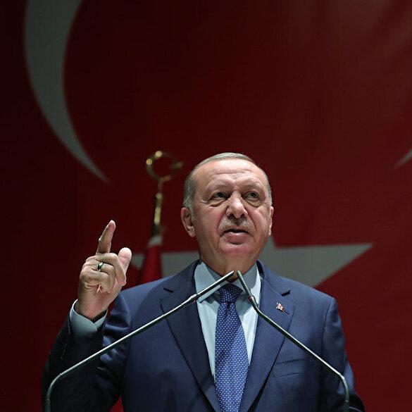 Cumhurbaşkanı Erdoğan: Şovmenlerin maskesi düşmeye başladı