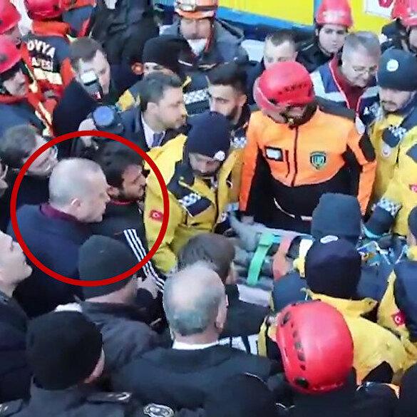 Cumhurbaşkanı Erdoğan Şule öğretmenin kurtarılmasını anbean takip etti