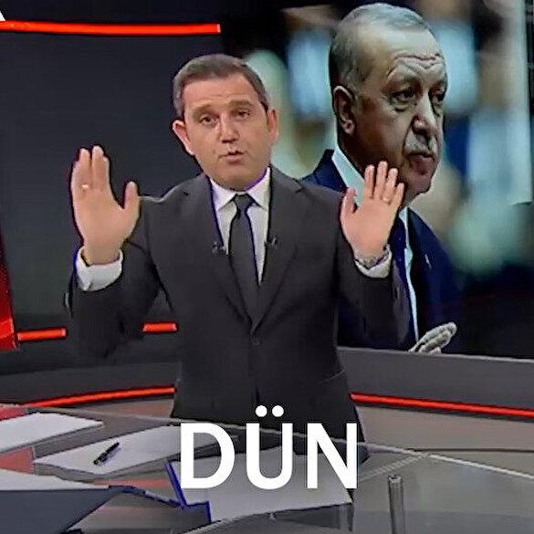 Fatih Portakal dün söylediği yalanı düzeltti: Kusura bakmayın Fahrettin Bey