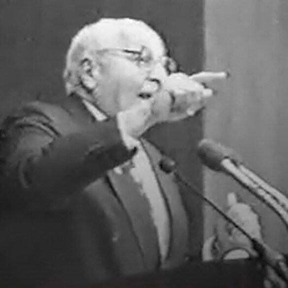 ABD ve İsrail'in 'Ortadoğu' planını Erbakan 1992'de anlatmıştı