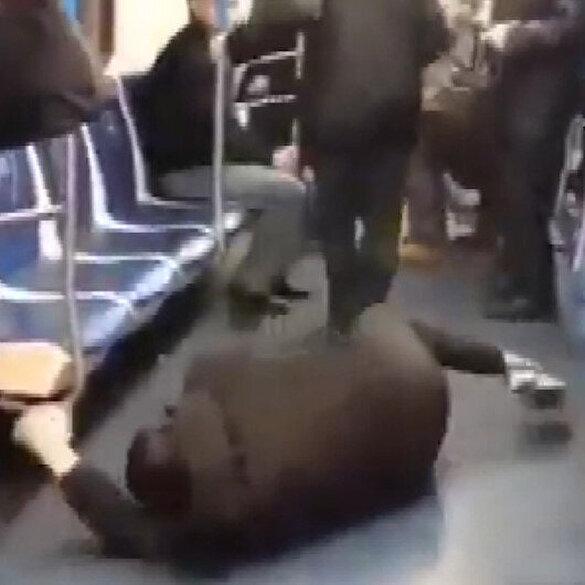 Metroda koronavirüs şakası yaptı