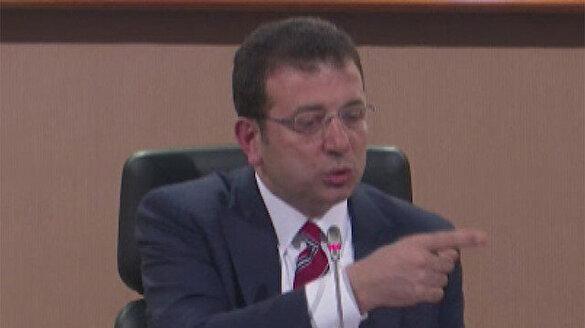 Ekrem İmamoğlu'nun İBB Meclisinde küfür ettiği anlar: Mikrofonu kapattı ama kamera kayıttaydı